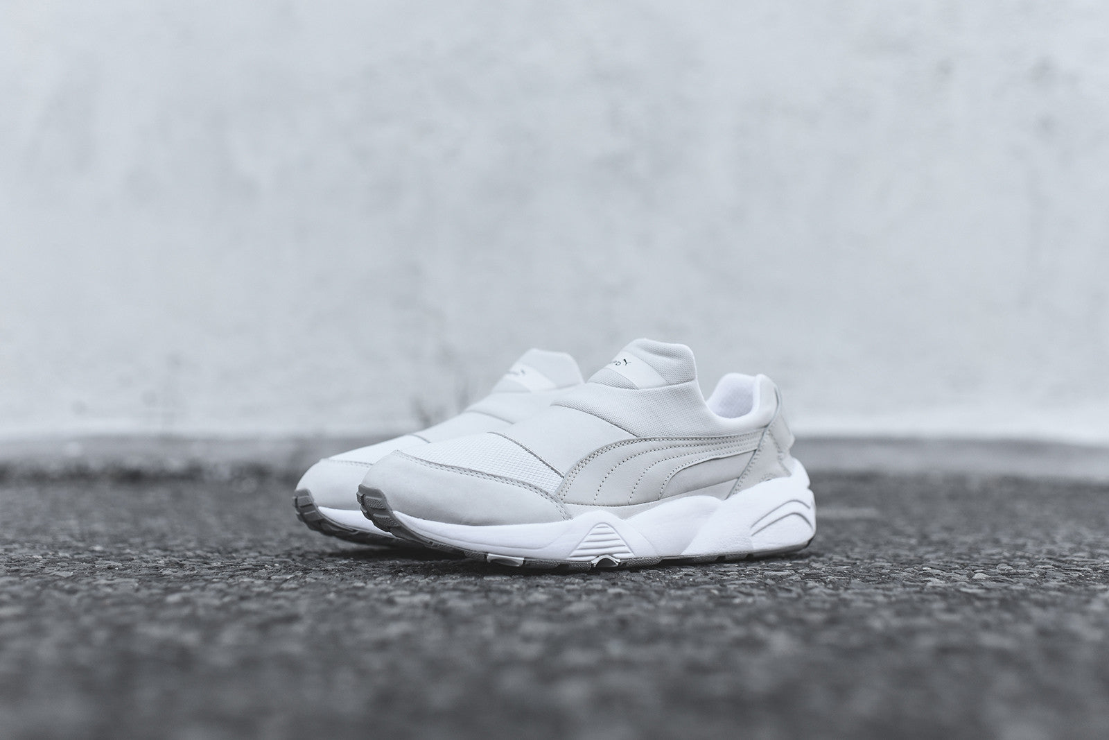 Puma x Stampd Trinomic Sock - Triple White