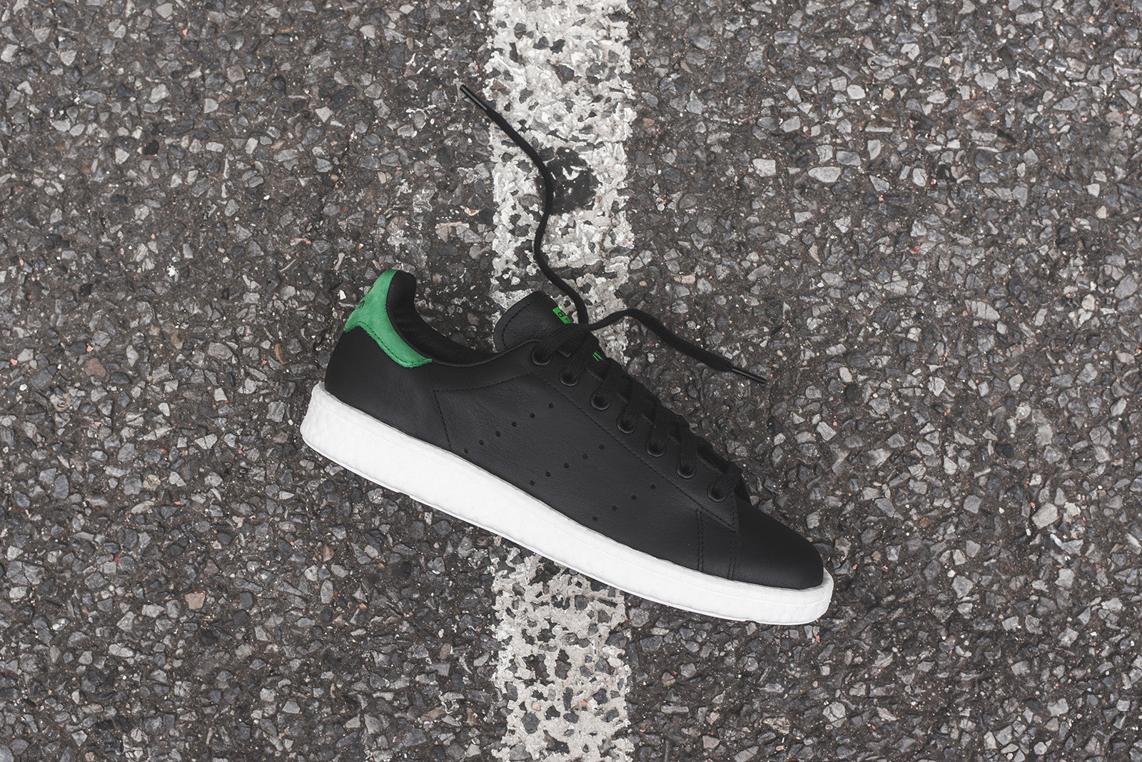 adidas Originals Stan Smith Boost - Black / Green