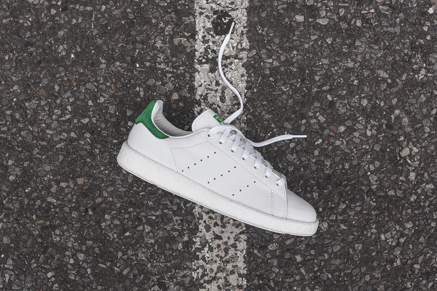 adidas Originals Stan Smith Boost - White / Green