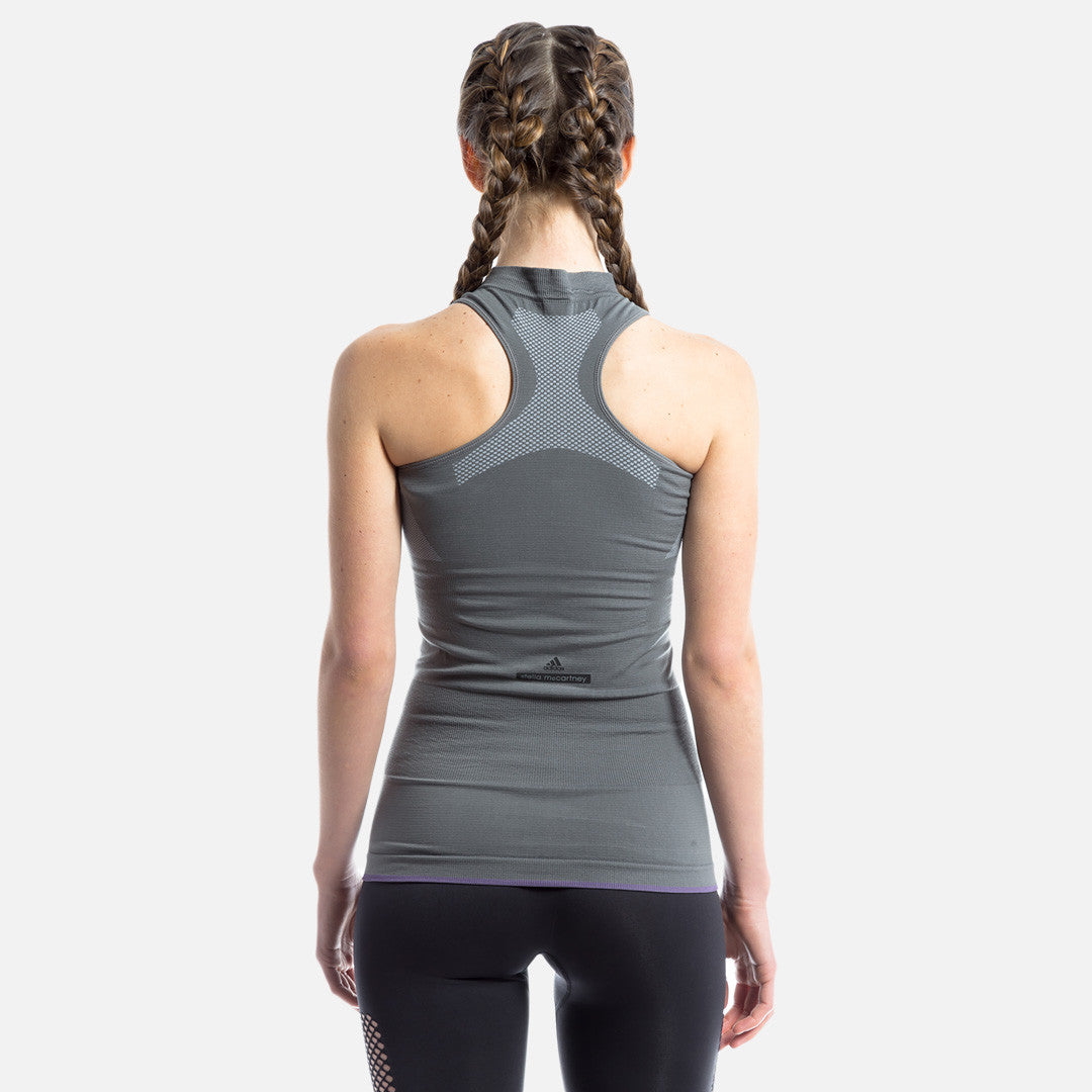 adidas by Stella McCartney Yoga Seamless Tanktop - Granite