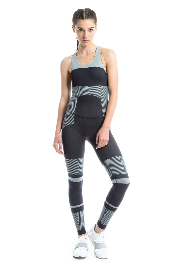 adidas by Stella McCartney Seamless Yoga All-In-One - Black