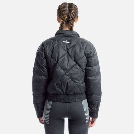 adidas by Stella McCartney Essential Short Padded Jacket - Black