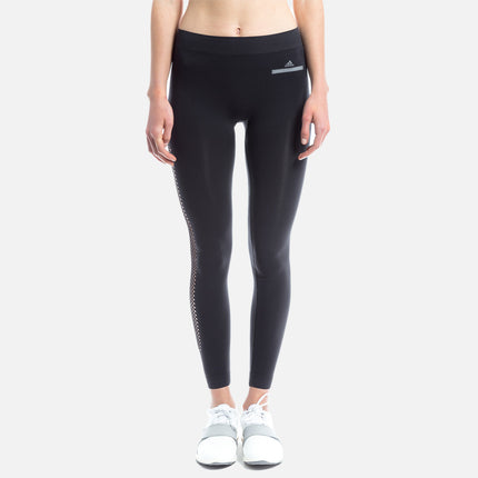adidas by Stella McCartney Essential Seamless Mesh Tight - Black