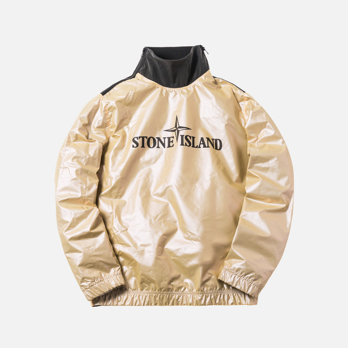 Stone Island Iridescent Coating Pullover - Golden Pink