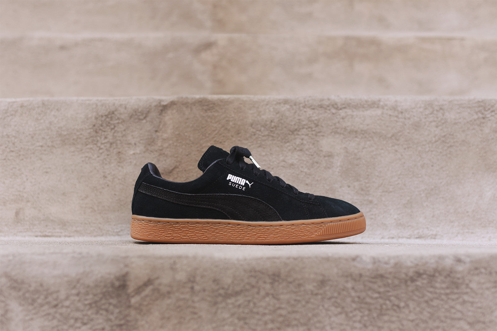 puma suede classic schwarz puma suede classic shoes black. Black Bedroom Furniture Sets. Home Design Ideas