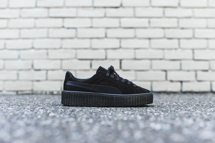 Puma x Rihanna Suede Creeper - Satin Black