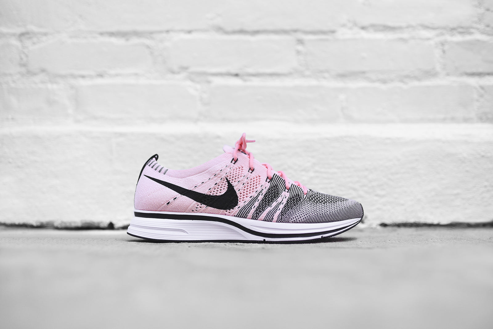 NikeLab Flyknit Trainer - Sunset Tint / Black / White