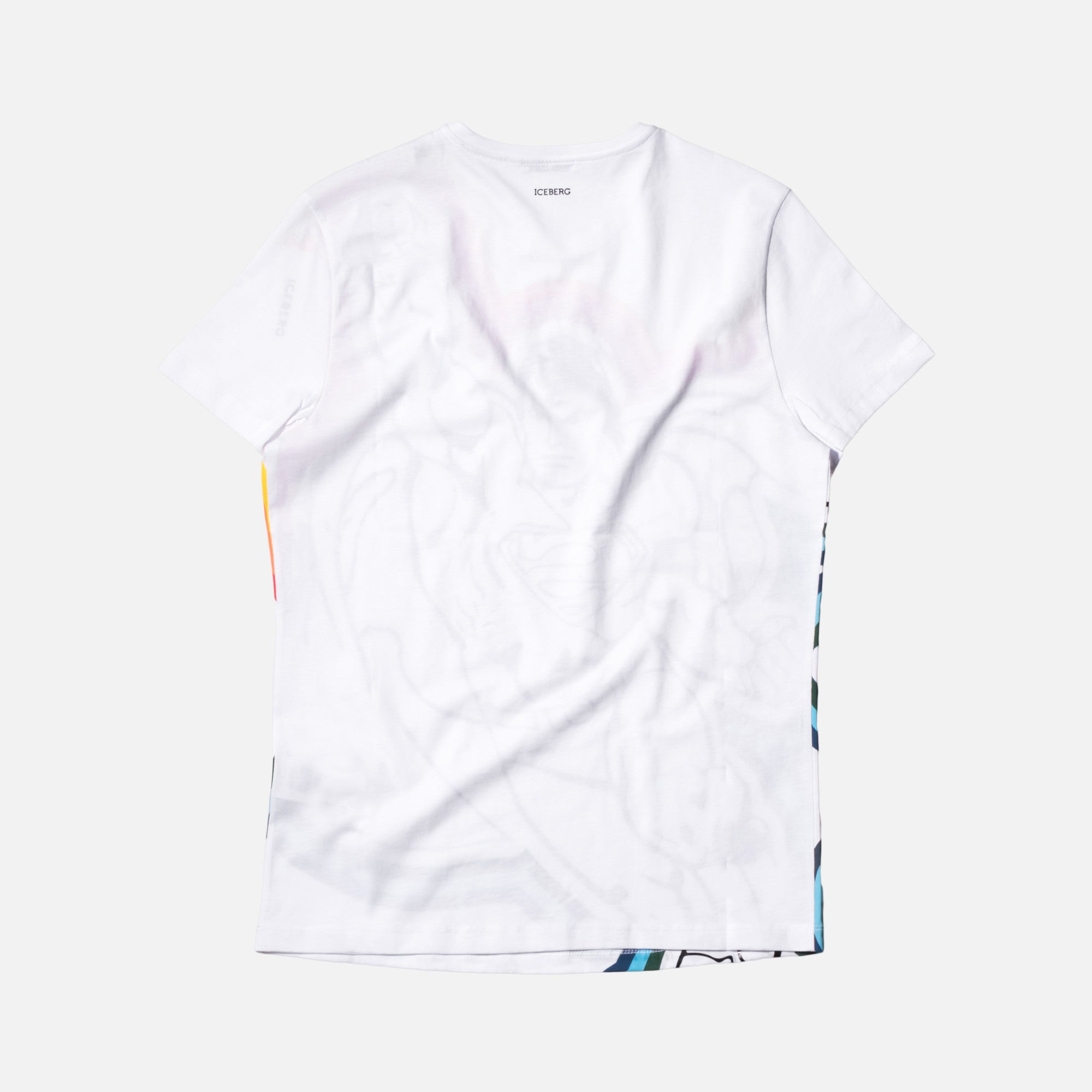 Iceberg Superman Tee - White