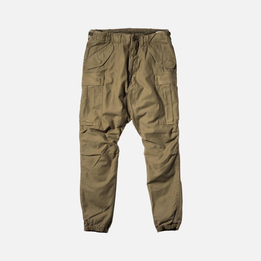 R13 Surplus Military Cargo Pants - Army Green