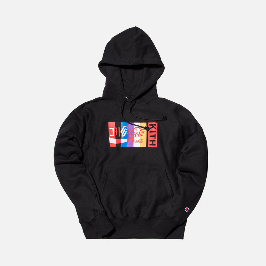 Kith x Coca-Cola International Hoodie - Black