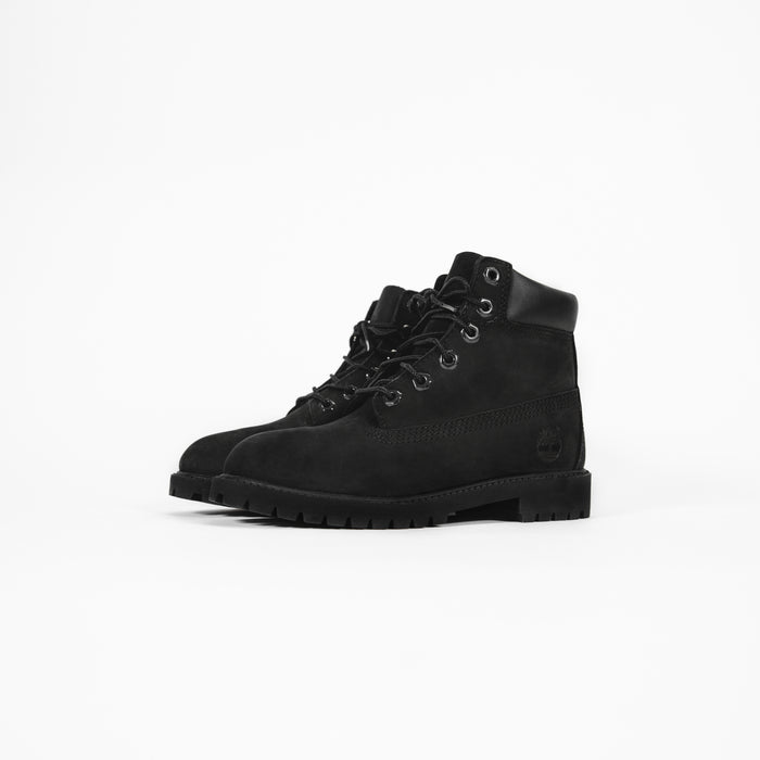 "Timberland Youth 6"" Premium Waterproof Boot - Black"