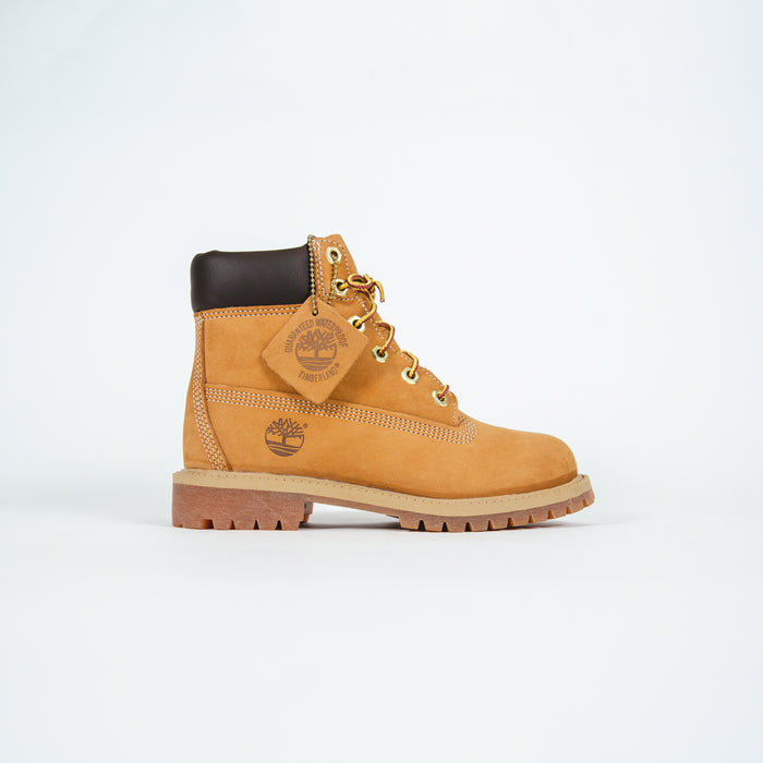 "Timberland Youth 6"" Premium Waterproof Boot - Wheat"