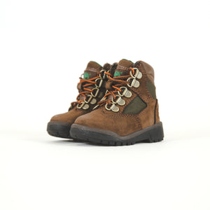 "Timberland Toddler 6"" FB - Brown / Green"