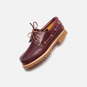 Timberland Full-Grain Boat Shoe - Burgundy