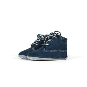 Timberland Crib Bootie with Hat - Navy Image 3
