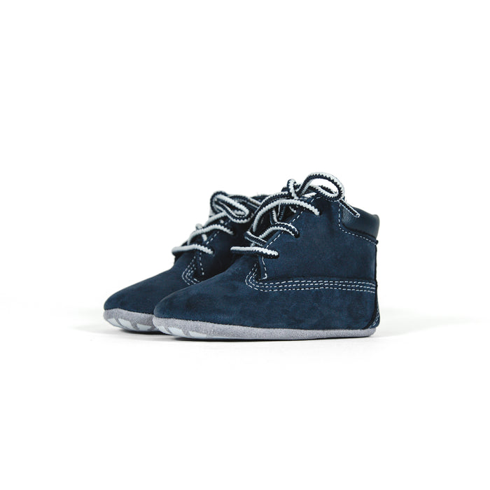 Timberland Crib Bootie with Hat - Navy