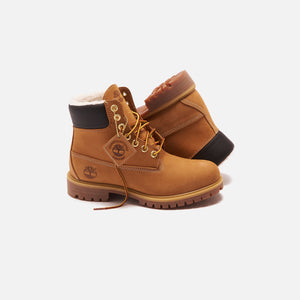 Timberland Fleece Lined 6 Inch Construct Boot - Wheat