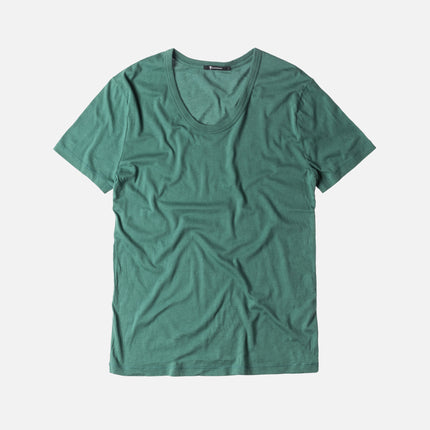 T by Alexander Classic Low Neck Tee - Cash