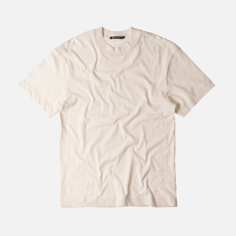 T by Alexander Oversized Short Sleeve Tee - Salt
