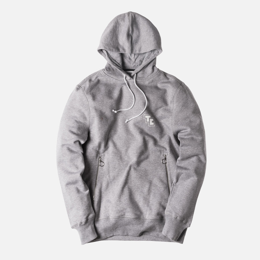 Tim Coppens Acid Hoodie - Heather Grey