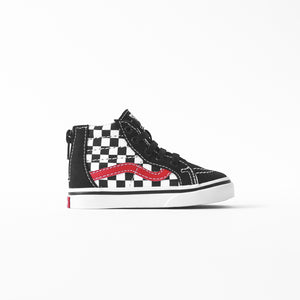 1edf75d188 Vans Toddler Sk8-Hi Zip - Black   Red – Kith