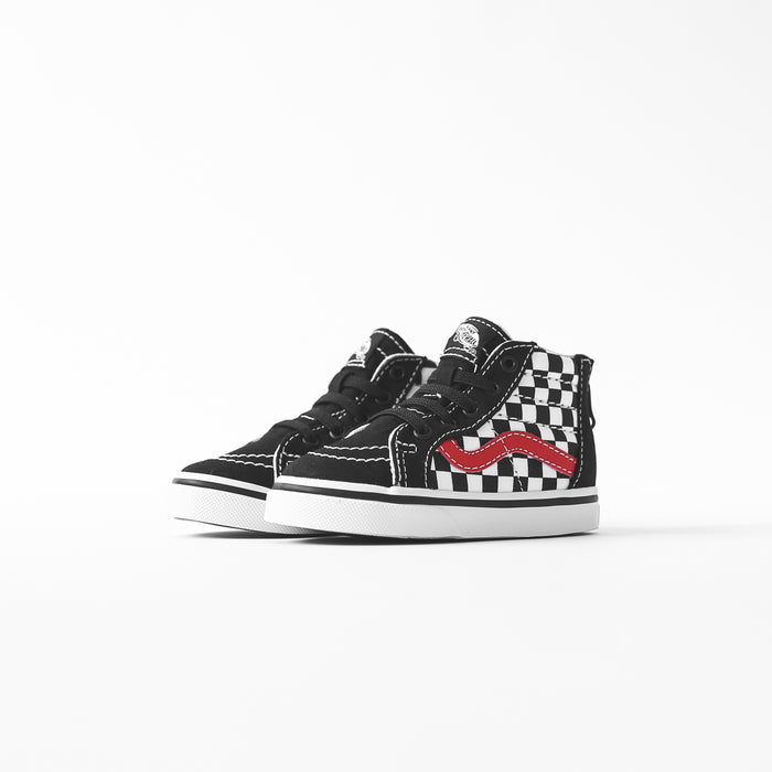 Vans Toddler Sk8-Hi Zip - Black / Red