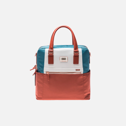 Kith x Tumi Jetsetter Bag - Orange / Teal