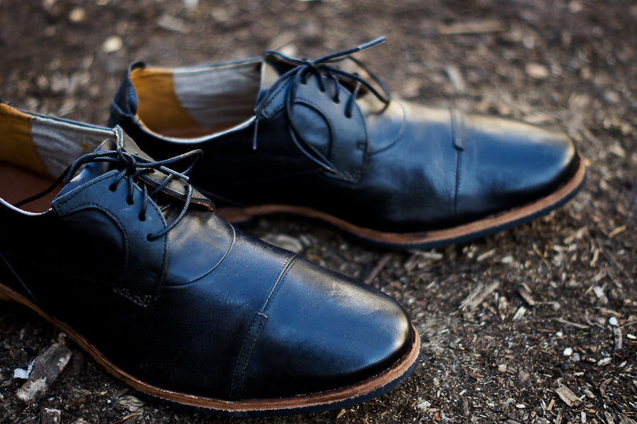 TIMBERLAND Wodehouse Cap Toe Oxford - Black