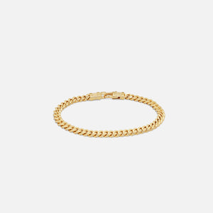 Tom Wood Curb Bracelet L 8.3 inches - Gold