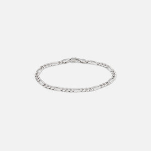 Tom Wood Figaro Bracelet Thick 8.3 inches - Silver Image 1