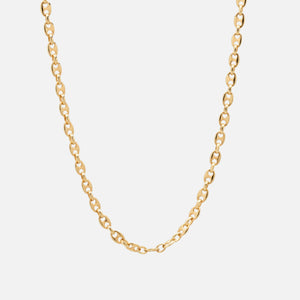 Tom Wood Bean Chain 20.5 inches - Gold