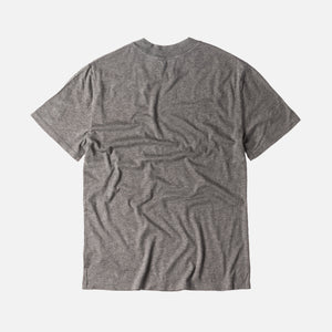 T by Alexander S/S High Crewneck Tee - Grey