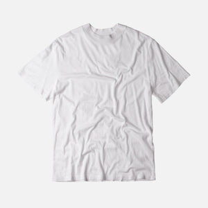 T by Alexander S/S High Crewneck Tee - White