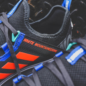 adidas Consortium x White Mountaineering Agravic Speed + - Core Black / Active Orange Image 5