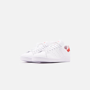 adidas Originals Stan Smith - White / Lush Red Image 2
