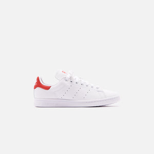 adidas Originals Stan Smith - White / Lush Red Image 1