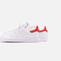 adidas Originals Stan Smith - White / Lush Red Thumbnail 4