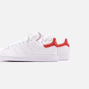 adidas Originals Stan Smith - White / Lush Red Image 4