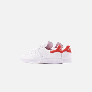 adidas Originals Stan Smith - White / Lush Red Image 5