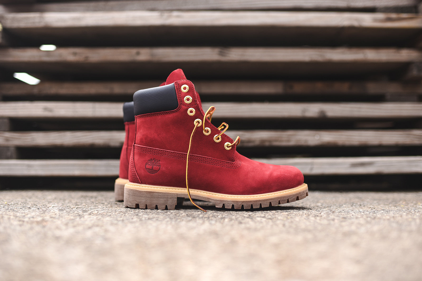 "Timberland 6"" Construct PRM - Patriotic Red"