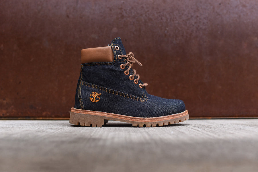 "Timberland White Oak Denim 6"" Boot - Denim"