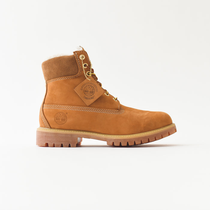 "Timberland 6"" Shearling Lined Classic - Wheat"