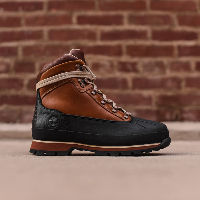Timberland Euro Hiker Shell Toe Boot - Burnt Orange / Navy