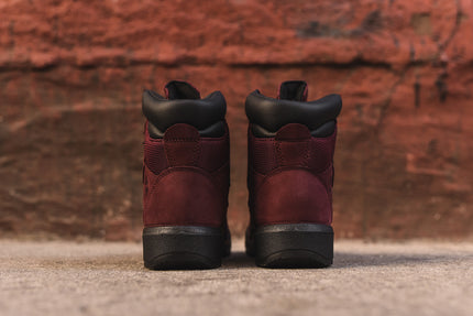 "Timberland Field Boot 6"" - Burgundy"