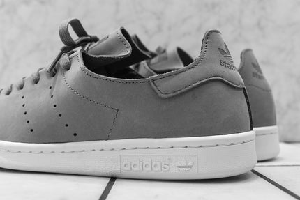 online store 0a81b ec280 adidas stan smith leather sock womens grey