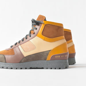 Common Projects x Robert Geller Boot  - Camel / Tan / White / Yellow