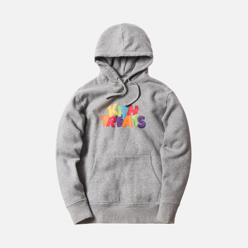 Kith Treats 3D Hoodie - Heather Grey