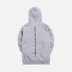 Kith Treats Ice Cream Sandwich Hoodie - Heather Grey
