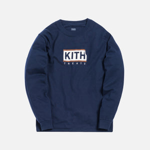Kith Treats Ice Cream Sandwich L/S Tee - Navy