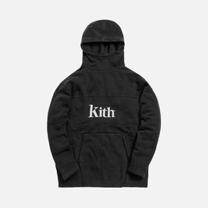 Kith Double Pocket 2 Hoodie - Black